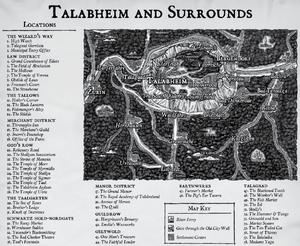 Warhammer Talabheim Map