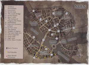 Warhammer End Times Nuln Map