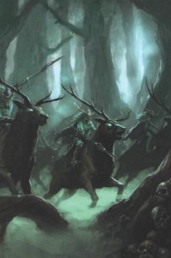 Warhammer Wood Elves Wild Hunt
