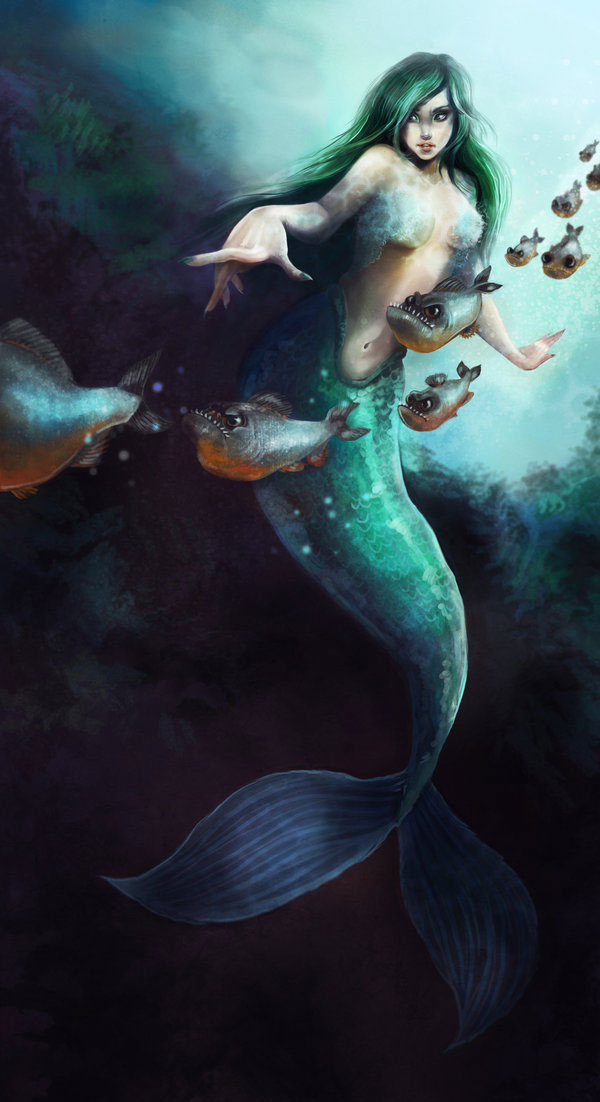 File:Image28 Mermaid With Piranha on Latest Fantasy Writing Prompts