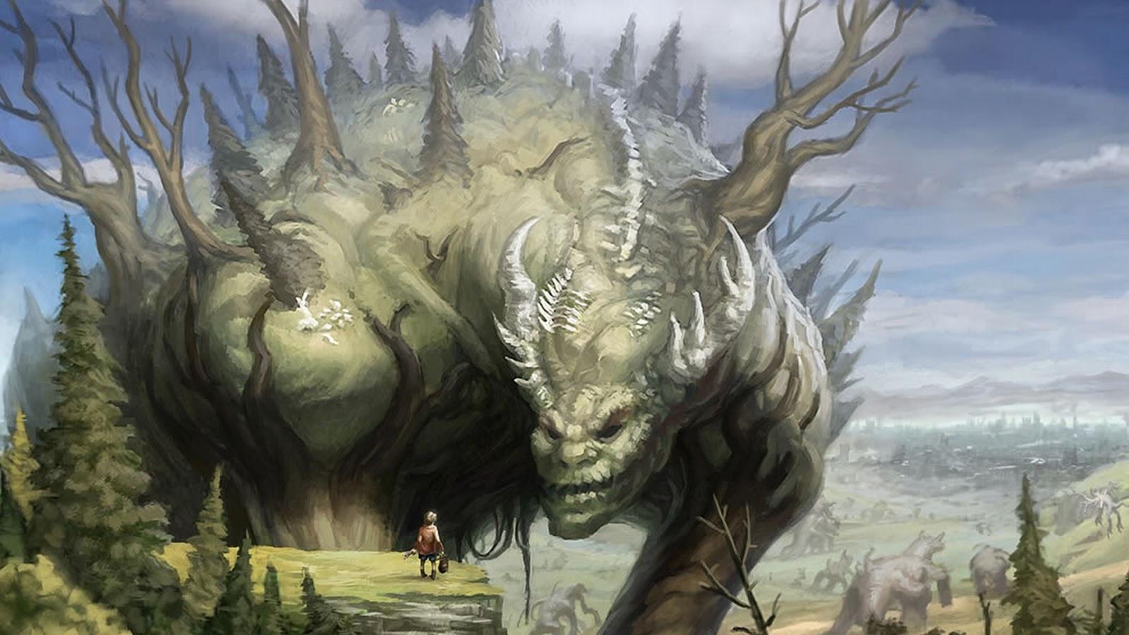 Image - Giant-monster-green-earth-giant-animal-wallpaper ...