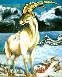 Zlatorog Goldenhorns and the Hunter Tale #AtoZChallenge