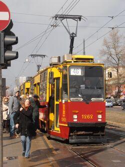 Aleja Jana Pawła II (tramwaj 46).JPG