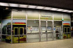 Punkt Obsługi Pasażerów Stacja Metra Marymont.JPG