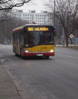 Anielewicza (autobus 180).JPG
