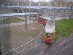 Metro Mlociny (tramwaj 17).JPG