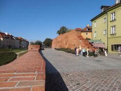 Mury obronne (Podwale).JPG
