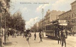 Aleje Jerozolimskie (przed wojną).jpg