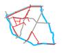 Schemat ścieżek rowerowych na Targówku