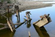 Zawalone przeslo mostu poniatowskiego