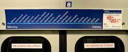 Mapa I linii w wagonie metra.JPG