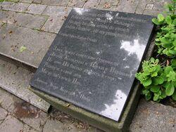 Tablica Zarządu PKiN na Cmentarzu Prawosławnym na Woli.JPG
