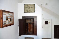 Sala z kołowrotem Kościół Wizytek.JPG