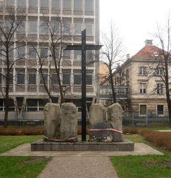 Ogród Krasińskich (miejsce pamięci Pasażu Simonsa).JPG