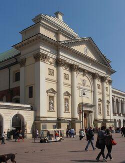 Krakowskie Przedmiescie (kosciol sw. Anny.JPG