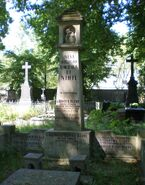 Cmentarz Ewangelicko-Augsburski (nagrobek H. Klawego)