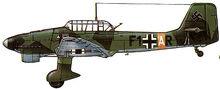 18 Ju87B-2 StG77 Eastern Front