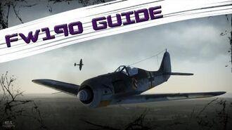 War Thunder Guide FW190 A-5 - Maneuvers & Tactics