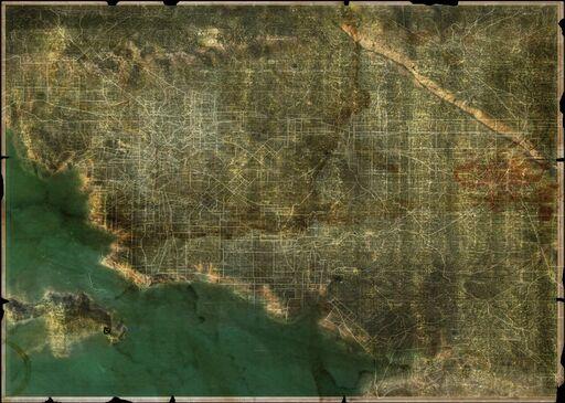 Wasteland 2 Map California