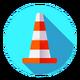 Under Construction Cone