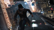 Running across the L-Train, Watch Dogs