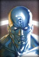 Doctor Manhattan painting