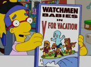 Simpsons' Watchmen Babies