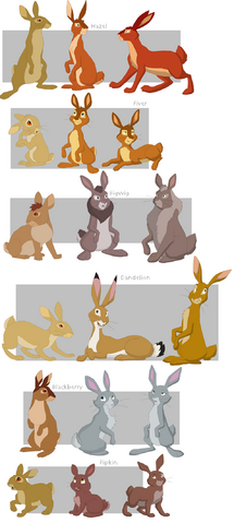 File:Watership Down charas part1 by shuvuuia-2-.png