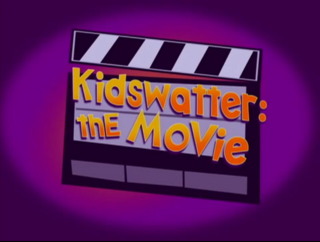 Kidswatter the Movie Title Card