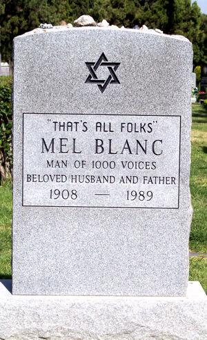 MelBlancsTombstone