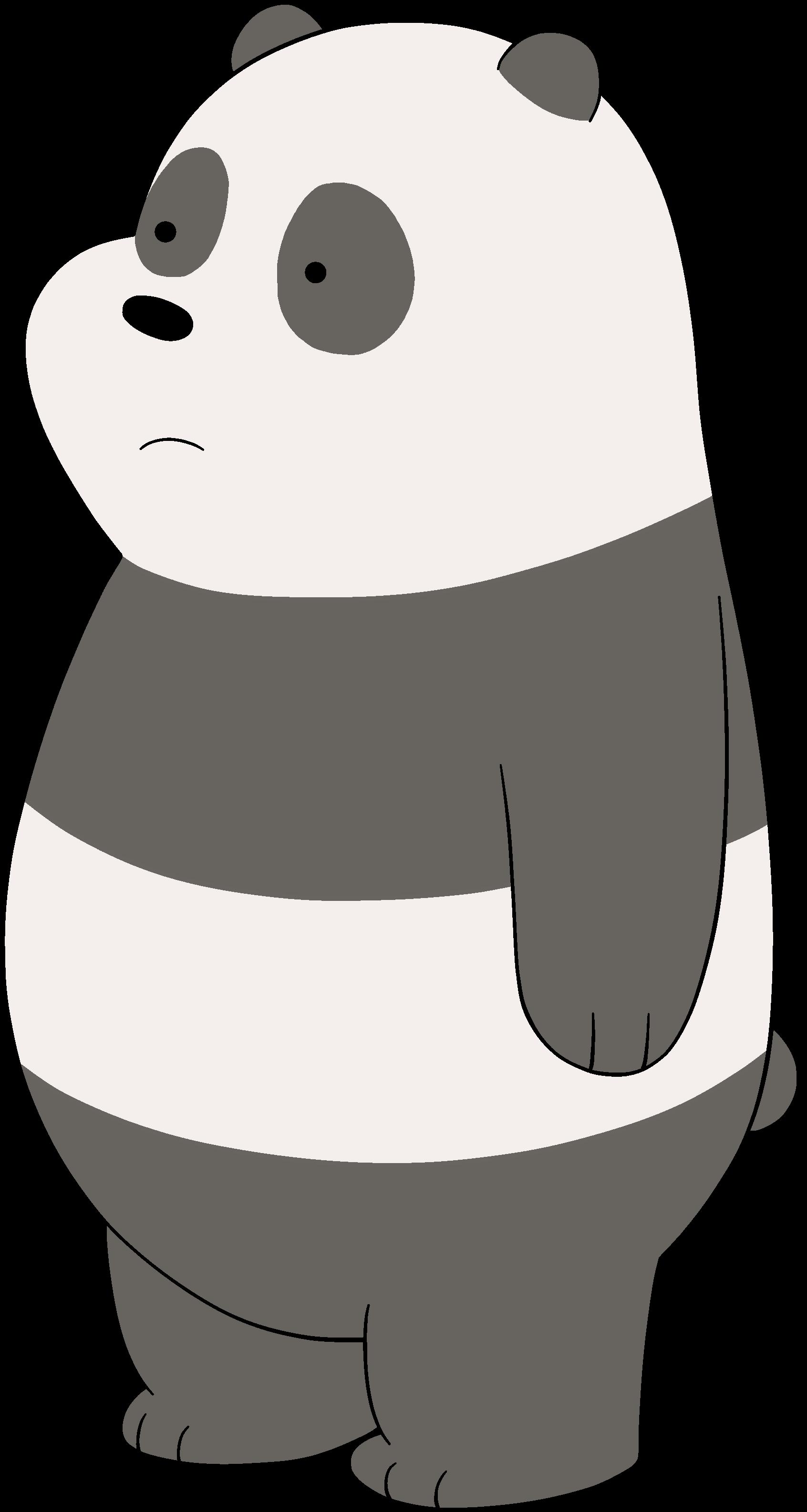 we bare bears coloring pages - panda bear canon we bare bears fanon wikia fandom