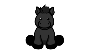 Black Friesian