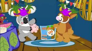 Koala Holiday -- December 2009's Pet of the Month, the Webkinz Koala