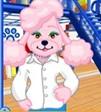 Woman Pink Poodle