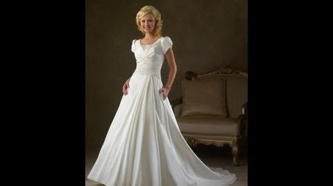 The train of wedding dress