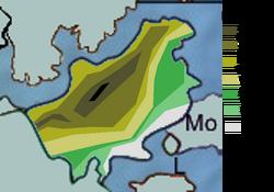 Geographische Karte Perus