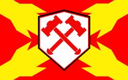 Flagge des alten spanischen Reiches