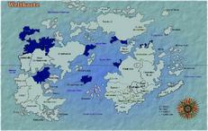 Alle Gebiete die jemals zum ersten Britischen Empire gehörten.