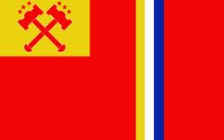 Flagge des spanischen Kolonialreiches