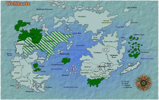 Alle Gebiete die jemals zum zweiten British Empire gehörten