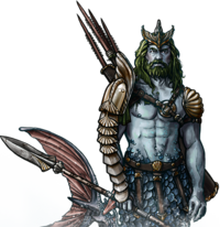 Merfolk Spearman Potrait