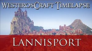 WesterosCraft Timelapse The Making of Lannisport-0