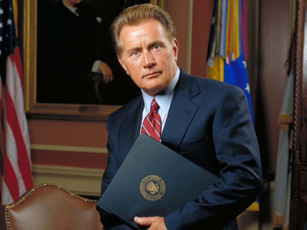 Martin Sheen the west wing