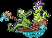 Swampy&Allie