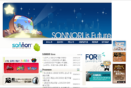 Sonnori Website Snapshot - Web Archive 2006