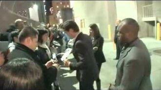 Matt Bomer Signs Autographs Hollywood 1 31 11