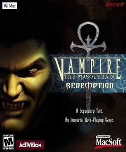 Vampire The Masquerade - Redemption cover mac