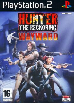 Hunter The Reckoning - Wayward cover ps2 eur