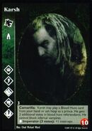 Karsh alternated card