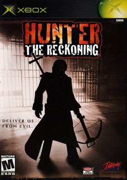 Hunter The Reckoning - videogame cover xbox usa